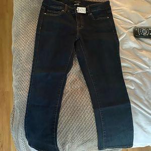 NWT White House Black Market crop jeans
